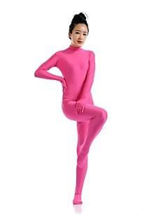 Zentai Suits Ninja Zentai Cosplay Costumes Fuschia Solid Leotard/Onesie Zentai Spandex Lycra Unisex Halloween