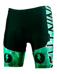 ILPALADINO Fôrede sykkelshorts Sykkel Shorts Fôrede shorts Bunner Herre Unisex Fort Tørring Vindtett Anatomisk design Ultraviolet
