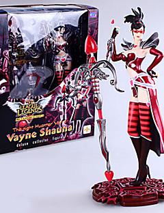 Anime Action Figurer Inspirert av LOL Cosplay CM Modell Leker Dukke