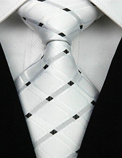 abordables Esmóquines y Trajes-Hombre Elegante Corbata - Lujo Cuadrícula Clásico Fiesta Boda Creativo
