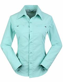 Dámské Dağcı Gömleği Outdoor Voděodolný Rychleschnoucí Odolný vůči UV záření Nositelný Prodyšné Vrchní část oděvu Outdoor a turistika