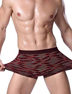 billige Herremote og klær-Herre Boksere - Trykt mønster, Trykt mønster Medium Midje