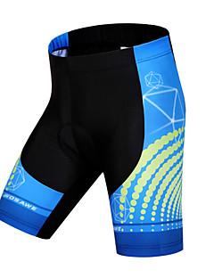 WOSAWE Fôrede sykkelshorts Unisex Sykkel Shorts Fôrede shorts Bunner Sykkelklær Fort Tørring Anatomisk design Pustende 3D Pute Begrenser