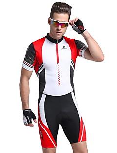 halpa -Nuckily Pyöräily jersey ja trikoot Miesten Lyhythihainen Pyörä VaatesetitAnatominen tyyli Ultraviolettisäteilyn kestävä Kosteuden