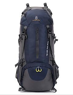 billiga Ryggsäckar och väskor-60L Ryggsäckar / Ryggsäck - Vattentät, Vattentät dragkedja, Bärbar Utomhus Camping, Resa Nylon, oxford Röd, Grön, Blå