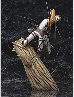 cheap Anime Cosplay-Anime Action Figures Inspired by Attack on Titan Cosplay PVC CM Model Toys Doll Toy