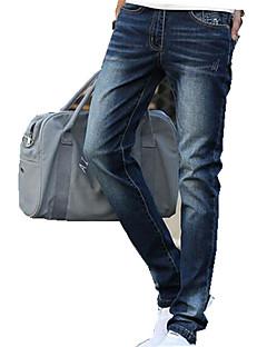 A bărbaților Pantaloni A bărbaților Casual Pur Fără Manșon Bumbac