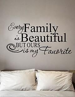 olcso Csendélet fali matricák-Állatok Emberek Csendélet Romantika Divat Alakzatok Régies (Vintage) Ünneő Rajzfilm Szabadidő Fantasy Falimatrica Word & Quotes Wall