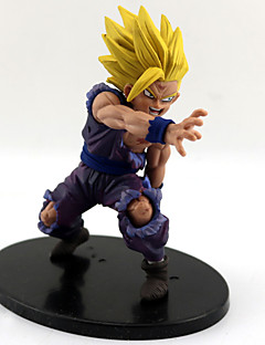 billige Anime cosplay-Dragon Ball Son Gohan PVC 12CM Anime Action Figurer Modell Leker Doll Toy