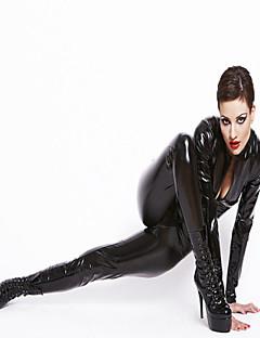 Cosplay Cosplay-Asut Juhla-asu Unisex Halloween Karnevaali Uusi vuosi Festivaali/loma Halloween-asut Musta Yhtenäinen