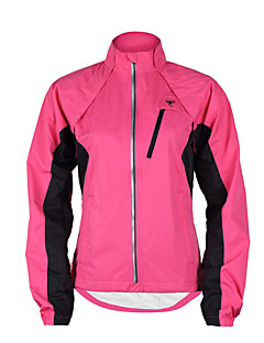 cheap Cycling Jackets-TASDAN Women's Cycling Jacket Purple / Yellow / Pink Patchwork Bike Windbreaker / Jacket / Top Waterproof, Breathable, Reflective Strips