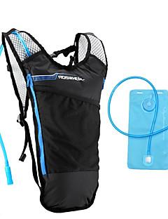 ROSWHEEL® Bolsa de Bicicleta 5LMochila & Bolsa de Hidratação / mochilaÁ Prova-de-Água / Bolsa Kettle Embutida / Camurça de Vaca á