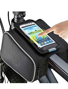ROSWHEEL® 自転車用バッグ 1.8L自転車用フレームバッグ 防水ファスナー / 防湿 / 耐衝撃性 / 耐久性 自転車用バッグ ポリエステル / ポリ塩化ビニル / テリレン サイクリングバッグ サイクリング 17.5*10.5*9