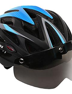 billiga Cykling-MOON Vuxen cykelhjälm 25 Ventiler CE Certifiering Stöttålig, Lättvikt, Justerbar passform EPS, PC, EVA Vägcykling / Rekreation Cykling / Camping - Röd+Svart / Blå / Svart / Svart / Orange