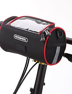 cheap Bike Bags-ROSWHEEL Shoulder Bag Bike Handlebar Bag Cell Phone Bag 6.0 inch Moistureproof/Moisture Permeability Waterproof Zipper Wearable Touch