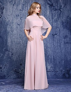 A-Line Sweetheart Floor Length Chiffon Mother of the Bride Dress with Sash / Ribbon by Shiduoli