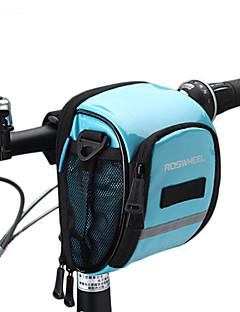 cheap Bike Bags-ROSWHEEL Bike Bag 1.8L Bike Handlebar Bag Moistureproof/Moisture Permeability Waterproof Zipper Wearable Shockproof Bicycle Bag PU