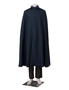 """billige Anime cosplay-Inspirert av Chi-bi Maruko Sasuke Uchiha Anime  """"Cosplay-kostymer"""" Cosplay Klær Fargeblokk Langermet Vest Topp Bukser Hanske Kappe Reb Til"""