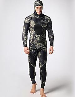 MYLEDI 남성용 3mm 잠수복 전신 잠수복 방수 보온 착용 가능한 YKK 지퍼 네오프렌 잠수복 긴 소매 다이빙 복-수영 다이빙 봄 여름 겨울 가을 클래식
