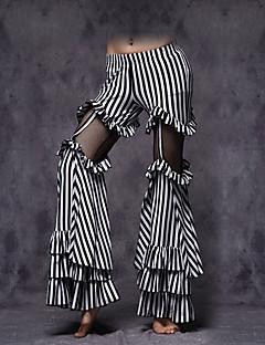 cheap Belly Dance Wear-Belly Dance Bottoms Women's Performance Cotton Ruffles Sleeveless Dropped Pants