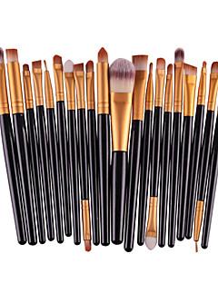 baratos -20pcs Pincéis de maquiagem Profissional Conjuntos de pincel / Pincel para Sombra Fibra Sintética Amiga-do-Ambiente / Profissional /