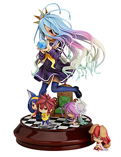 cheap Anime Cosplay-Anime Action Figures Inspired by No Game No Life Shiro PVC(PolyVinyl Chloride) 20 cm CM Model Toys Doll Toy
