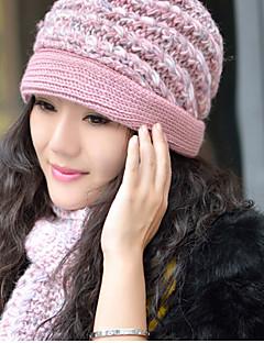 baratos Acessórios de Inverno-Mulheres Casual Lã, Retângular / Fofo / Vermelho / Púrpura / Rosa / Inverno