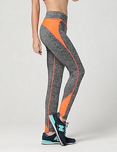 billiga Träning-, jogging- och yogakläder-Dam Yoga byxor - Röd, Grön, Blå sporter Byxa Löpning, Fitness, Gym Sportkläder Andningsfunktion, Kompression Elastisk