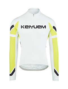 cheap Cycling Jerseys-KEIYUEM Men's / Women's Long Sleeve Cycling Jersey Bike Quick Dry, Anatomic Design, Breathable