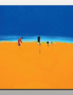 tanie Pejzaże abstrakcyjne-r? cznie malowane abstrakcyjne krajobrazu obraz olejny na płótnie dekoracji domu wystrój domu z rozciągnięta rama gotowa do zawieszenia
