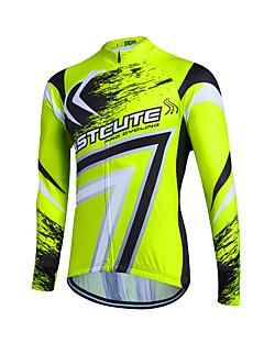 Fastcute Jerseu Cycling Pentru femei Bărbați de Copil Unisex Manșon Lung Bicicletă Jerseu SveterUscare rapidă Fermoar Față Respirabil