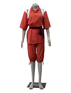 """billige Anime cosplay-Inspirert av Spirited Away Chihiro Ogino Anime  """"Cosplay-kostymer"""" Cosplay Klær Ensfarget Kortermet Topp Yukata Shorts Til Dame"""