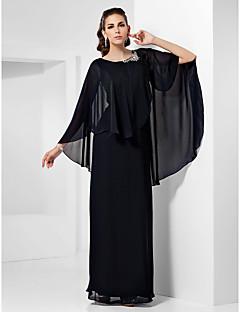 Kroj uz tijelo Do poda Šifon Formalna večer Svečana priredba Svadba Haljina s Perlica po TS Couture®