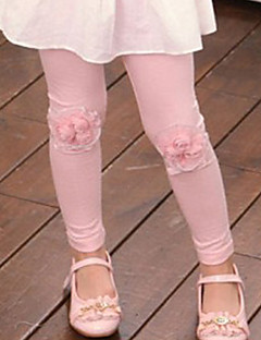 Boy's Cotton Fashion Spring/Fall/Winter Going out/Casual/Daily Warm Lace Flower Children Pants Leggings