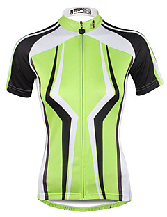 ILPALADINO Women s Short Sleeve Cycling Jersey Plus Size Bike Jersey Top  Breathable Quick Dry Ultraviolet Resistant Sports 100% Polyester Mountain  Bike MTB ... 305a7c1d5