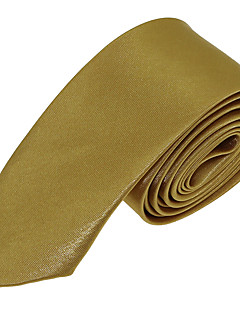 cheap Fashion Handbags & Accessories-Men's Party Work Basic Polyester Necktie - Solid Colored