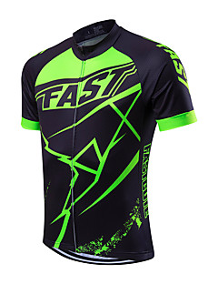 4f86e5f37 Fastcute Men s Short Sleeve Cycling Jersey Bike Jersey Top Breathable Quick  Dry Sweat-wicking Sports Coolmax® Mountain Bike MTB Road Bike Cycling  Clothing ...