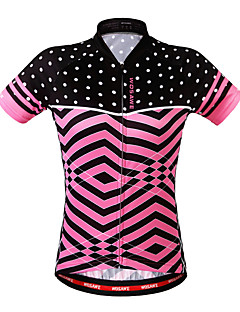 cheap Cycling Clothing-WOSAWE Women's Short Sleeves Cycling Jersey Bike Jersey, Breathable, Sweat-wicking