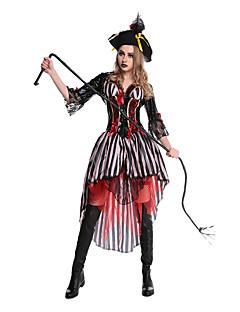 billige Halloweenkostymer-Film & Tv Kostymer Cosplay Kostumer Party-kostyme Maskerade Dame Halloween Festival / høytid Drakter Lapper