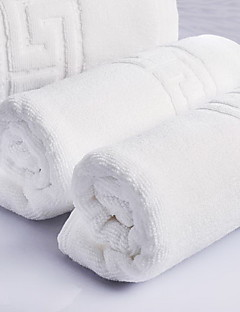 Frischer Stil Badehandtuch Set,Jacquard Gehobene Qualität 100% Baumwolle gewebtes Jacquard Handtuch