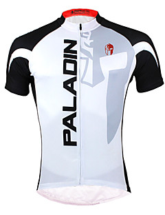 cheap Cycling Jerseys-ILPALADINO Cycling Jersey Men's Short Sleeves Bike Jersey Top Bike Wear Quick Dry Ultraviolet Resistant Front Zipper Breathable Back