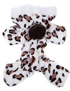 billiga Hundkläder-Katt Hund Huvtröjor Jumpsuits Pyjamas Hundkläder Leopard Brun Rosa Polär Ull Kostym För husdjur Herr Dam Gulligt Ledigt/vardag