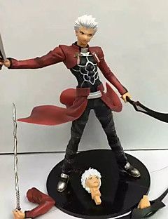 cheap Anime Cosplay-Fate/Zero Kiritsugu Emiya PVC 24cm Anime Action Figures Model Toys Doll Toy