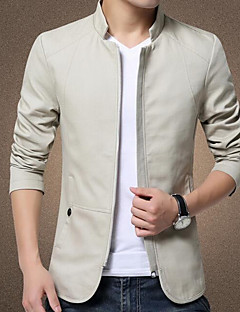 Men's Casual/Daily Work Casual Spring Summer Fall Jacket