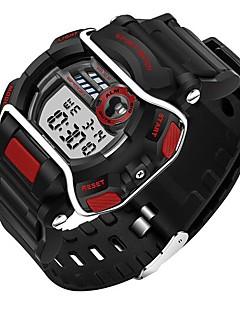 billige Børneure-SANDA Sportsur Smartur Armbåndsur Sendere Vandafvisende, Kronograf, LED Rød / Blå / Jægergrøn / Rustfrit stål / To år / Dobbelte Tidszoner / Stopur / Selvlysende i mørke