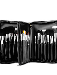 cheap Makeup Brush Sets-29 Makeup Brush Set Horse Synthetic Hair Pony Goat Hair Mink Hair Professional Full Coverage Wood Eye Face Lipstick Eyebrow Eyeliner