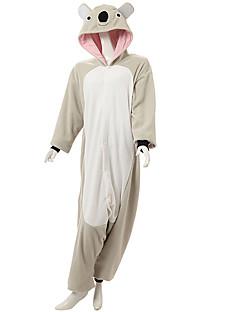 billige Kigurumi-Voksen Kigurumi-pysjamas Koala Onesie-pysjamas Polar Fleece Cosplay Til Damer og Herrer Pysjamas med dyremotiv Tegnefilm Festival / høytid kostymer