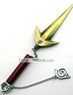 Våpen Inspirert av Naruto Minato Namikaze Anime Cosplay Tilbehør Våpen Svart / Gull / Sølv Legering