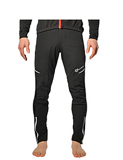 cheap Cycling Pants, Shorts, Tights-ROCKBROS Cycling Tights Men's Women's Unisex Bike Tracksuit Pants / Trousers Winter Fleece Bike Wear Quick Dry Breathable 3D Pad