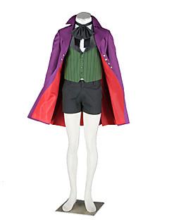 """billige Anime Kostymer-Inspirert av Svart Tjener Cosplay Anime  """"Cosplay-kostymer"""" Cosplay Klær Ensfarget Frakk / Vest / Trøye Til Halloween-kostymer"""